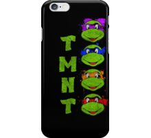 TMNT Paint Splater Grunge iPhone Case/Skin
