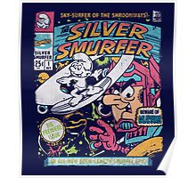 Silver Smurfer Poster