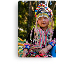 Thai child  Canvas Print