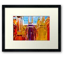 Bouteilles en Provence Framed Print