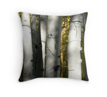 Aspen Trunks #1 Throw Pillow