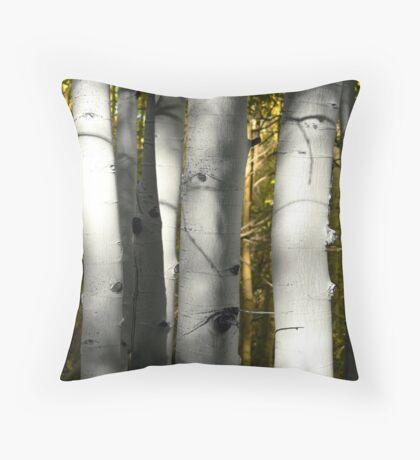Aspen Trunks #1 Throw Pillow