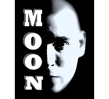 MOON FACE Photographic Print