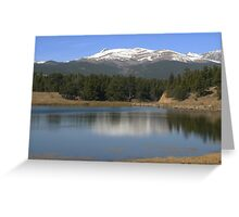 Colorado Reflections #1 Greeting Card