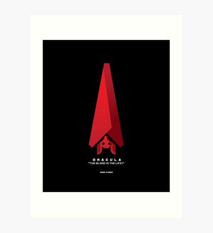 Literary Classics Illustration Series: Dracula Art Print