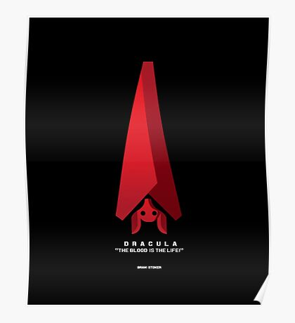 Literary Classics Illustration Series: Dracula Poster