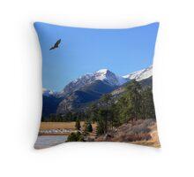 Beautiful Colorful Colorado Throw Pillow