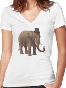 A Fine Vintage  Women's Fitted V-Neck T-Shirt