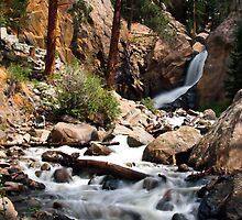 Boulder Falls #2 by Tony L. Callahan
