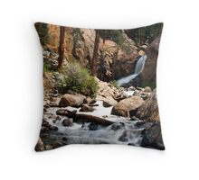 Boulder Falls #2 Throw Pillow