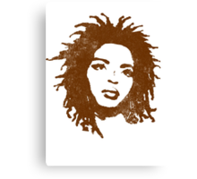 LAURYN HILL Canvas Print