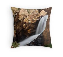 Boulder Falls #4 Throw Pillow