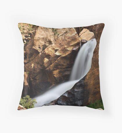 Boulder Falls #4 Throw Pillow