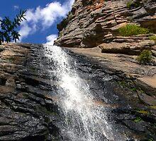 Bridal Veil Falls, R.M.N.P. -- Another View by Tony L. Callahan