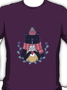 Winter cat T-Shirt