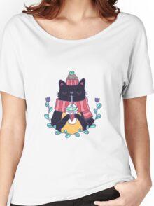 Winter cat Women's Relaxed Fit T-Shirt
