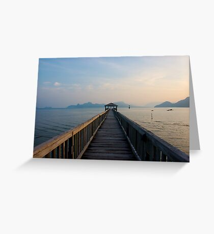 Tranquil Sea Greeting Card