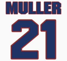 National Hockey player Kirk Muller jersey 21 by imsport