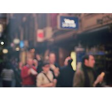 Blurry Life Photographic Print