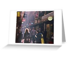 Light in the Lane Greeting Card