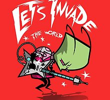 Invade the World by CoDdesigns