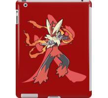 Blaziken With Fire Kanji iPad Case/Skin