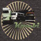 VW Kombi Bus T-shirt by KellieBee