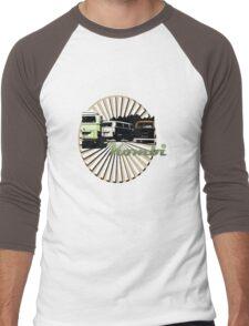 VW Kombi Bus T-shirt Men's Baseball ¾ T-Shirt
