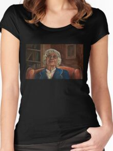 Where the Wild Things Are - Old Lady - BtVS Women's Fitted Scoop T-Shirt