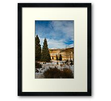 This Way To Heaven Framed Print