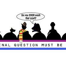 The Final Question (mug) by Nadya Johnson