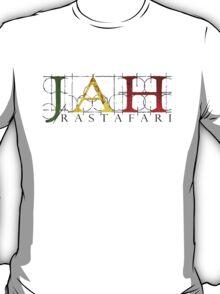 JAH Rastafari BLK T-Shirt