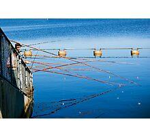 Fishing Poles Photographic Print