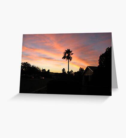 suburban paradise Greeting Card