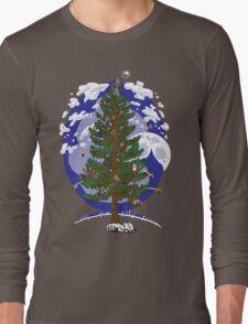 Silent Night, Hobbit Night Long Sleeve T-Shirt