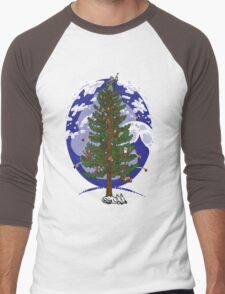 Silent Night, Hobbit Night Men's Baseball ¾ T-Shirt