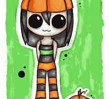 Pumpkin Girl. by xmoshymccoy