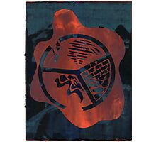 Silkscreens - 0004 - Fire On The Mountain Photographic Print