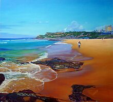 South Newcastle Beach, NSW Australia by Carole Elliott