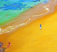 Sea & Sand, Bar Beach, Newcastle, NSW, Australia by carolelliott7