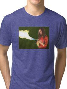 Five by Five - Faith - Angel Tri-blend T-Shirt