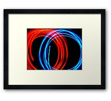 Circular Motion Framed Print