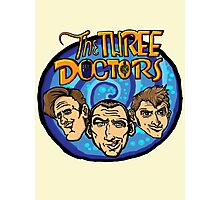 The Three Doctors! Photographic Print