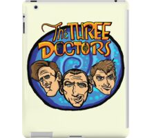 The Three Doctors! iPad Case/Skin