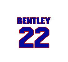 National Hockey player Max Bentley jersey 22 Photographic Print