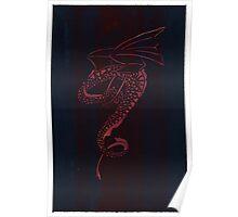 Silkscreens - 0008 - Spiral Dragon Poster