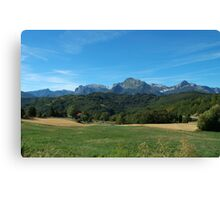 View from Giucugnano Canvas Print