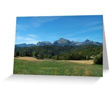 View from Giucugnano Greeting Card