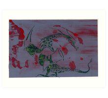 Silkscreens - 0010 - Xalte Art Print