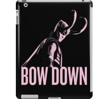 Loki: BOW DOWN iPad Case/Skin